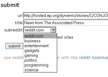 submitreddit Reddit Beta Releases Custom Subreddits picture
