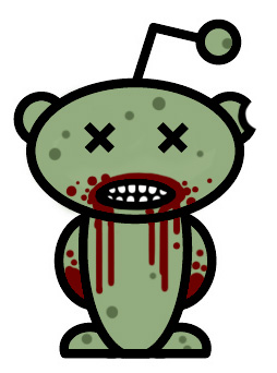 reddit alien zombied Reddits Decline in Democracy picture