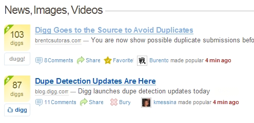 digg fp withdupe Digg Goes to the Source to Avoid Duplicates picture