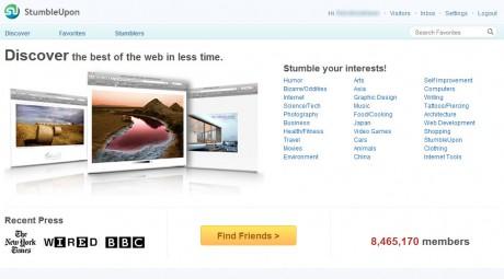 stumbleupon v4 460x255 The New StumbleUpon V4... Less Content, More Social picture